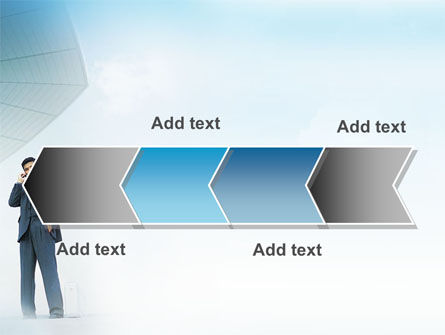 Business Talk Outdoor PowerPoint Template Slide 16