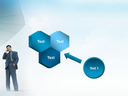 Business Talk Outdoor PowerPoint Template Slide 19