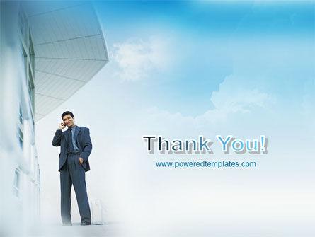 Business Talk Outdoor PowerPoint Template Slide 20