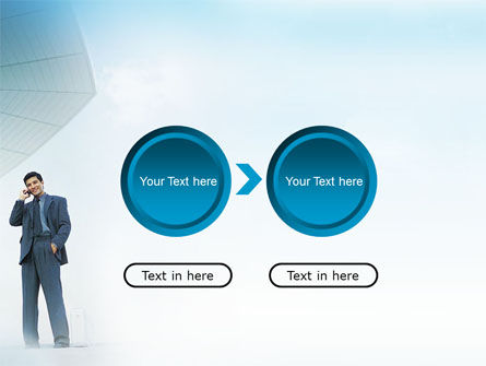 Business Talk Outdoor PowerPoint Template Slide 5