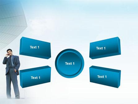 Business Talk Outdoor PowerPoint Template Slide 6