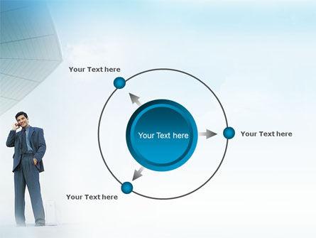 Business Talk Outdoor PowerPoint Template Slide 7