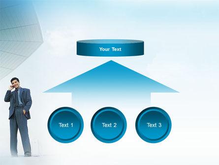 Business Talk Outdoor PowerPoint Template Slide 8