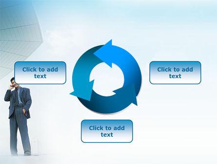 Business Talk Outdoor PowerPoint Template Slide 9