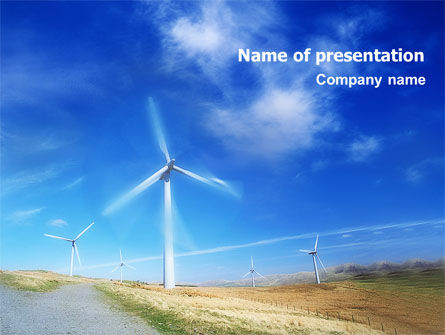 Alternative Energy Source PowerPoint Template, 01652, Construction — PoweredTemplate.com