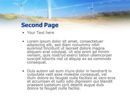 Alternative Energy Source PowerPoint Template, Slide 2, 01652, Construction — PoweredTemplate.com