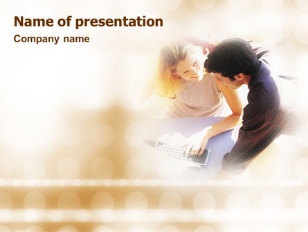 Advisory PowerPoint Template, 01653, Technology and Science — PoweredTemplate.com