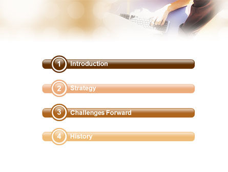 Advisory PowerPoint Template, Slide 3, 01653, Technology and Science — PoweredTemplate.com