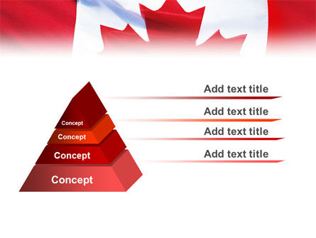 Canadian Flag PowerPoint Template Slide 10