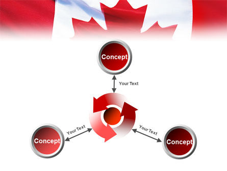 Canadian Flag PowerPoint Template Slide 12
