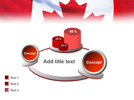 Canadian Flag PowerPoint Template Slide 13