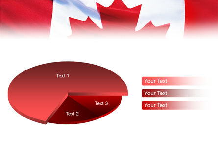 Canadian Flag PowerPoint Template Slide 14