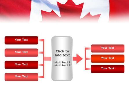 Canadian Flag PowerPoint Template Slide 16