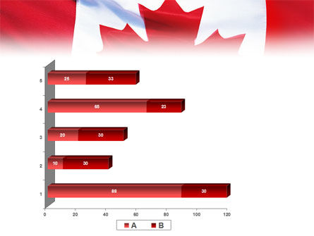 Canadian Flag PowerPoint Template Slide 17