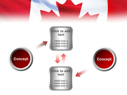 Canadian Flag PowerPoint Template Slide 19