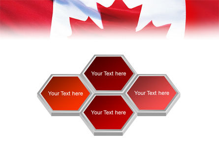 Canadian Flag PowerPoint Template Slide 5
