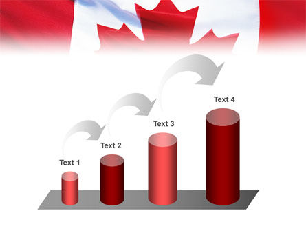 Canadian Flag PowerPoint Template Slide 7
