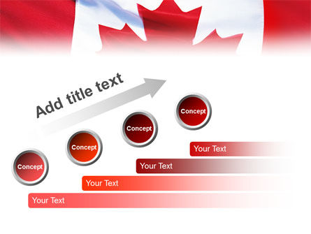 Canadian Flag PowerPoint Template Slide 9