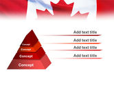 Canadian Flag PowerPoint Template#10