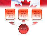 Canadian Flag PowerPoint Template#4