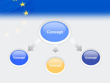 European Union Flag PowerPoint Template, Slide 4, 01657, Flags/International — PoweredTemplate.com