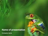 Animals and Pets: Templat PowerPoint Katak #01658