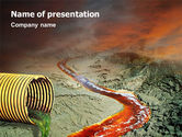 Nature & Environment: Chemical Pollution PowerPoint Template #01659