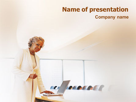 Business: Preparing Presentation PowerPoint Template #01660