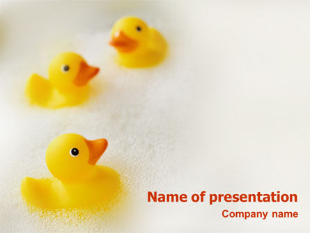 General: Bath PowerPoint Template #01668