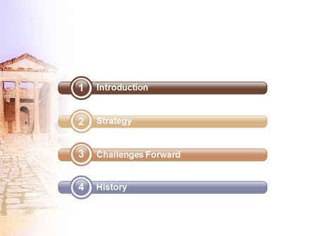 Ancient Greece PowerPoint Template, Slide 3, 01670, Construction — PoweredTemplate.com