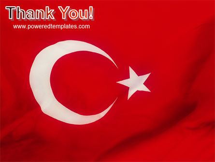 Turkish Flag PowerPoint Template Slide 20