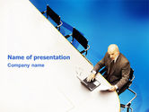 Business: Preparing For Business Meeting PowerPoint Template #01672