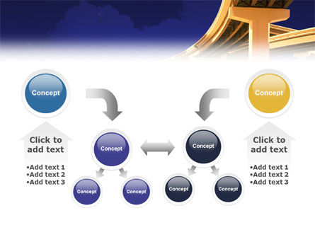 Road Interchange PowerPoint Template Slide 19