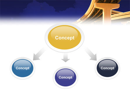 Road Interchange PowerPoint Template, Slide 4, 01673, Construction — PoweredTemplate.com