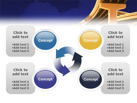 Road Interchange PowerPoint Template Slide 9