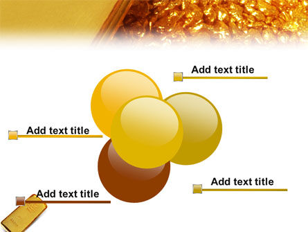 Gold PowerPoint Template Slide 10