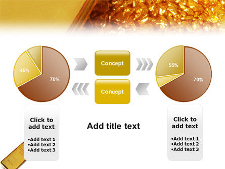 Gold PowerPoint Template Slide 11