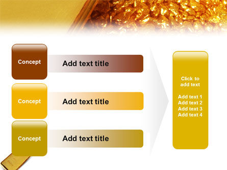 Gold PowerPoint Template Slide 12