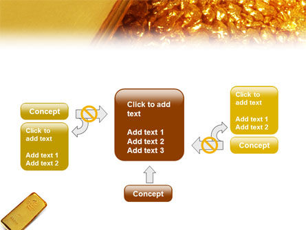 Gold PowerPoint Template Slide 13