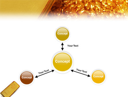 Gold PowerPoint Template Slide 14