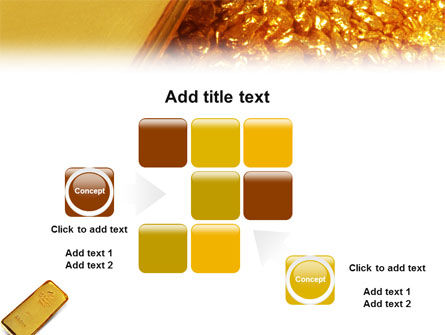 Gold PowerPoint Template Slide 16
