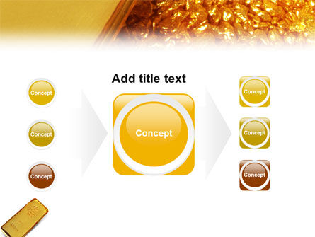 Gold PowerPoint Template Slide 17