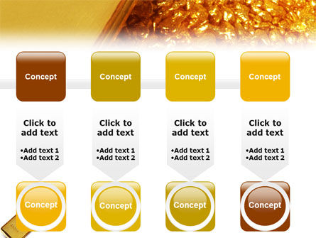 Gold PowerPoint Template Slide 18