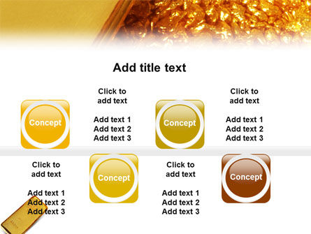 Gold PowerPoint Template Slide 19