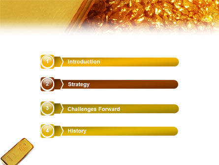 Gold PowerPoint Template, Slide 3, 01675, Financial/Accounting — PoweredTemplate.com