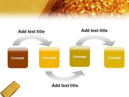 Gold PowerPoint Template Slide 4