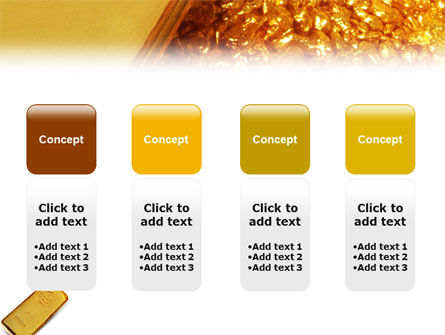 Gold PowerPoint Template Slide 5