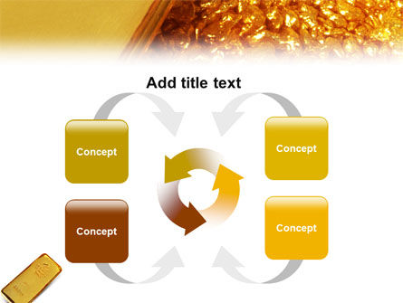 Gold PowerPoint Template Slide 6
