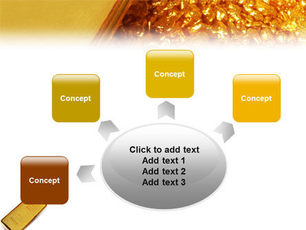 Gold PowerPoint Template Slide 7