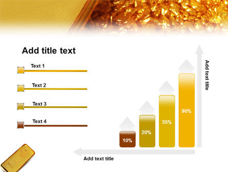 Gold PowerPoint Template Slide 8